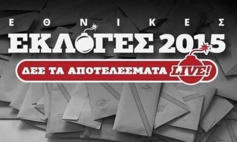 Αποτελέσματα εκλογών 2015 Β' Πειραιώς
