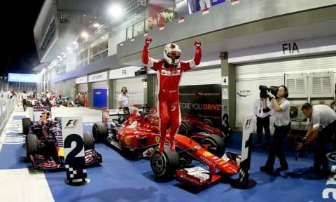 F1 Grand Prix Σιγκαπούρης: Ο Vettel δηλώνει παρόν