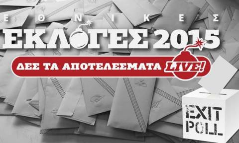 Exit polls 2015: Το αποτέλεσμα του exit poll του In.gr για τις εκλογές