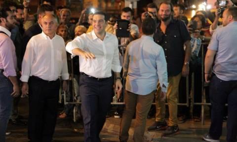 Αποτελέσματα εκλογών 2015: Στην Κλαυθμώνος ο Αλέξης Τσίπρας