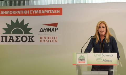 Αποτελέσματα εκλογών 2015: Γεννηματά – Θα ασκήσουμε εποικοδομητική αντιπολίτευση