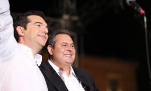 Τσίπρας - Καμμένος: Συνεχίζουμε τον αγώνα για μια τετραετία (vids&pics)