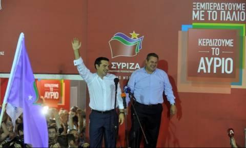 Αποτελέσματα εκλογών 2015: Αγγίζει το 7,4% η διαφορά ΣΥΡΙΖΑ – ΝΔ στο 99,44% της Επικράτειας
