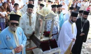 Την εικόνα της Παναγίας Βουλκανιώτισσας υποδέχθηκε η Μεσσήνη (pics)