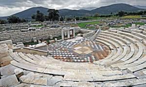 Αρχαία Μεσσήνη: Αναστηλώνεται η δυτική δωρική στοά της Αγοράς