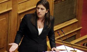 Η Κωνσταντοπούλου στο προεδρικό για τα αποτελέσματα των εκλογών