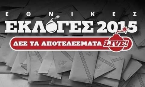 Αποτελέσματα εκλογών 2015 Β' Αθήνας (τελικό)