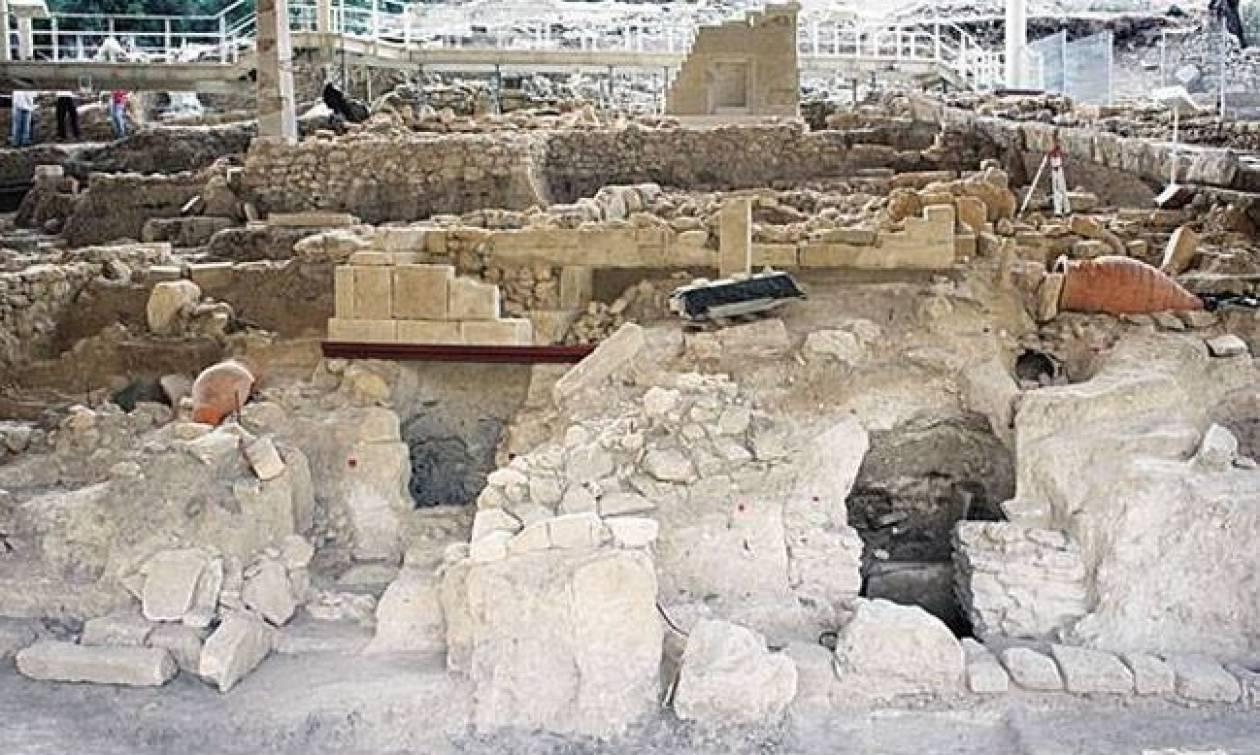 Ηράκλειο: Λαξευτός τάφος της ύστερης μινωικής περιόδου αποκαλύφθηκε στη Μονή Μαλεβιζίου