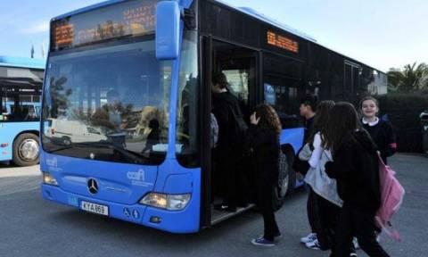 Δωρεάν αύριο (22/9) οι μεταφορές με λεωφορεία στην Κύπρο