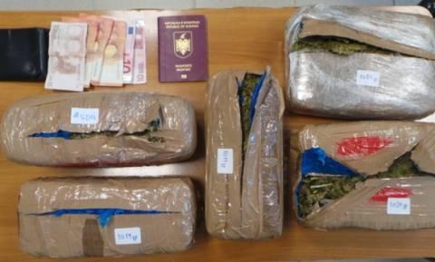 Ηράκλειο: Σύλληψη 22χρονου με περισσότερα από 5 κιλά κάνναβης