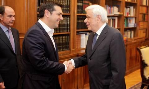 Αποτελέσματα εκλογών 2015: Ο Τσίπρας στο Προεδρικό (photos)