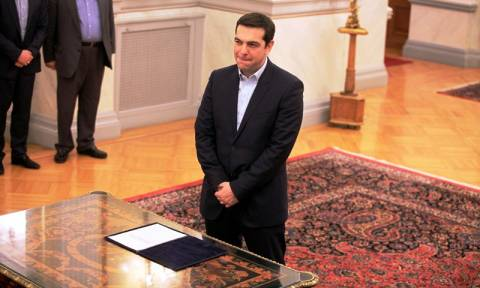 Ορκίστηκε πρωθυπουργός της Ελλάδας ο Αλέξης Τσίπρας (vid)