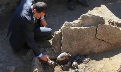 Ιταλία: Προρωμαϊκός τάφος ανακαλύφθηκε στην Πομπηία