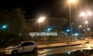 На стадион Таеквондо перевезены мигранты с площади Виктория