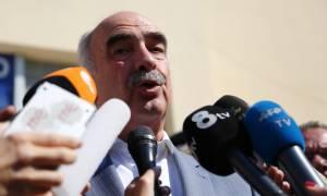 Δεν θέτει υποψηφιότητα για την προεδρία ο Μεϊμαράκης - Διαφωνεί με τη διαδικασία