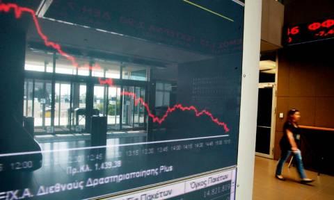 Χρηματιστήριο: Σημαντική υποχώρηση, πιέσεις στις τράπεζες