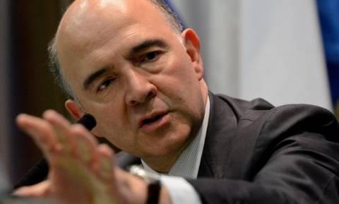 Μοσκοβισί: To μεταναστευτικό δεν θα πρέπει να είναι «κίνητρο για δημοσιονομική χαλάρωση»