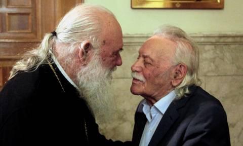 Αρχιεπίσκοπος Ιερώνυμος σε Γλέζο: Η σημερινή ημέρα είναι ημέρα αποκάλυψης (pics+video)
