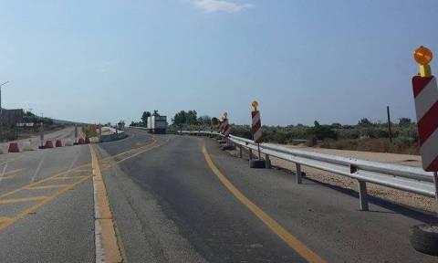 Κυκλοφοριακές ρυθμίσεις στην νέα εθνική οδό Αντιρρίου - Ιωαννίνων