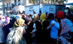 Μυτιλήνη: Τραγική παραμένει η κατάσταση για τους πρόσφυγες