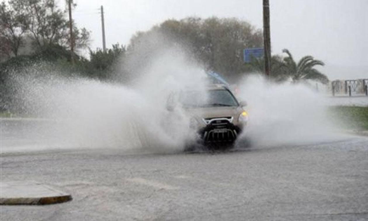 Κασσάνδρα Χαλκιδικής: Προβλήματα από ισχυρή νεροποντή
