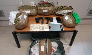 Ηράκλειο: Σύλληψη 43χρονου με 6 κιλά κάνναβης