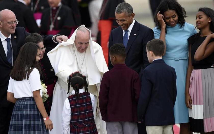 Για πρώτη φορά στις ΗΠΑ ο πάπας Φραγκίσκος (video + pics)