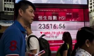 Υποχωρούν οι κινεζικές μετοχές μετά τα στοιχεία για τη μεταποίηση