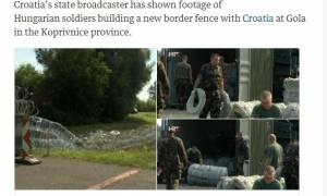 Στήνονται νέοι φράχτες στην Ουγγαρία - Εικόνες ντροπής στην Κροατία (video)