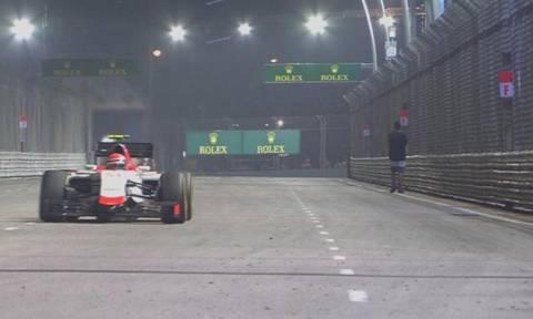 F1 Grand Prix Σιγκαπούρης: Συνέλαβαν τον άνθρωπο που διέκοψε τον αγώνα