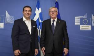 Συνάντηση Τσίπρα – Γιουνκέρ πριν τη Σύνοδο Κορυφής