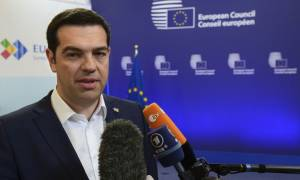 PM Tsipras meets S&D party leader Pittella in Brussels