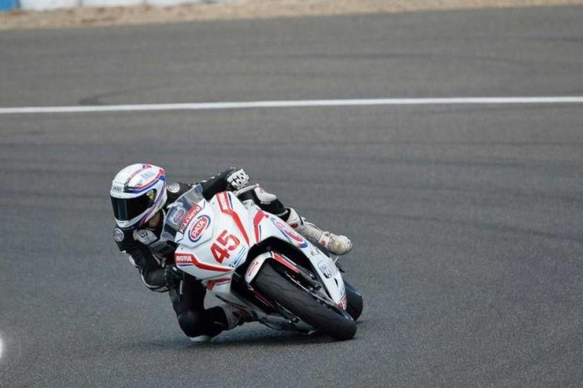 European Junior Cup Jerez: Ο Δημήτρης Καρακώστας ξεκίνησε 22ος και τερμάτισε 16ος στους 31 αναβάτες που συμμετείχαν στη Jerez