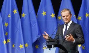 Τουσκ: Δεν μπορούμε να ρίξουμε όλο το βάρος σε Ελλάδα και Ιταλία – Πρέπει να τις στηρίξουμε