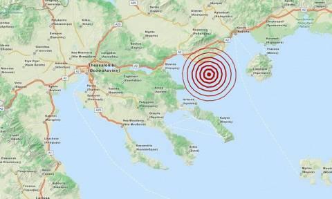 Σεισμός 4,6 Ρίχτερ νοτιοδυτικά της Καβάλας (pic)