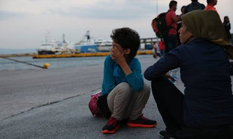 Πειραιάς: Νέα δρομολόγια με μετανάστες φτάνουν από τη Μυτιλήνη