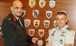 Επίσκεψη Διοικητή SEEBRIG στην 1η Στρατιά