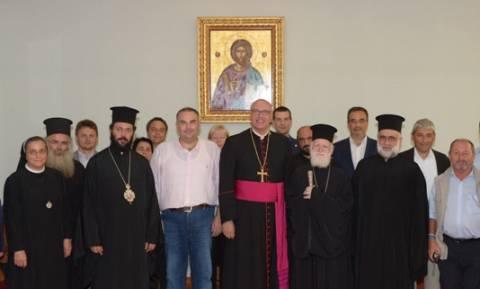 Την Αρχιεπισκοπή Κρήτης επισκέφθηκε ο Μητροπολίτης Αυστρίας