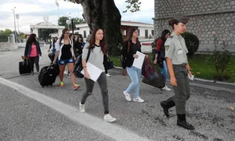Κατάταξη  στη Σχολή Μονίμων Υπαξιωματικών (pics)