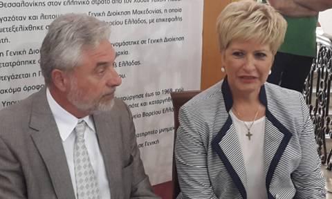 Τελετή παράδοσης-παραλαβής στο υφυπουργείο Μακεδονίας-Θράκης