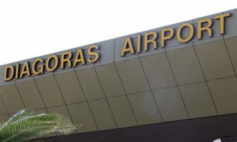 Επαναλειτουργεί το αεροδρόμιο της Ρόδου