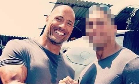Ο σωσίας του «The Rock» είναι στην πραγματικότητα ο ξάδερφος του! (photos)