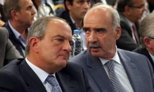 ΝΔ: Στο γραφείο του Καραμανλή ο Μεϊμαράκης