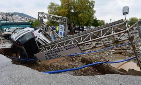 Σπίρτζης: Προτεραιότητα η καταγραφή των ζημιών στη Σκόπελο