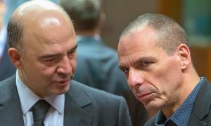 Μοσκοβισί: Οι συζητήσεις με το Βαρουφάκη ήταν μάταιες
