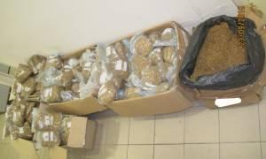 Πάτρα: Σύλληψη 43χρονου για μεταφορά μεγάλης ποσότητας λαθραίου καπνού