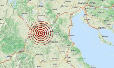 Σεισμός 3,4 Ρίχτερ μεταξύ Γρεβενών και Κοζάνης (pic)