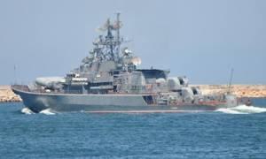Δύο ρωσικά πολεμικά πλοία πέρασαν από το Αιγαίο