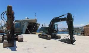 «Έπιασε» δουλειά η ΜΟΜΑ στη Σκόπελο - Προτεραιότητα η αποκατάσταση του οδικού δικτύου