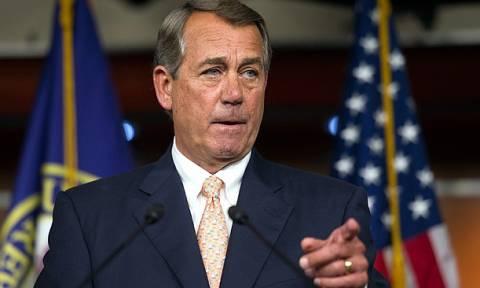 ΗΠΑ: Παραιτείται ο Τζον Μπένερ, ο πρόεδρος της Βουλής των Αντιπροσώπων